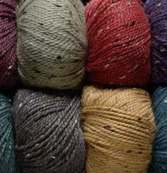 """A new favorite yarn!  Making Amy Herzog's """"New Towne"""" out of it and looooove it so far!"""