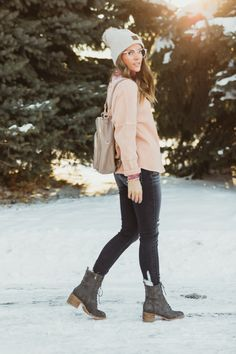 layer on the style // women's laid-back looks for cold-weather in January, February, and March | Buckle Holiday Style, Holiday Fashion, Winter Outfits Women, Cold Weather, Latest Trends, February, Winter Jackets, Boots, Womens Fashion