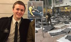 An American Mormon missionary was injured in the horrifying Brussels airport terrorist attack after having previously survived the Boston bombing and the Paris attacks.