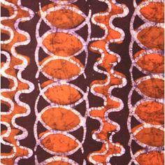 Batik Fabric Orange,White & Purple Orange And Purple, Craft, Fabrics, Textiles, Kids Rugs, Sewing, Home Decor, Tejidos, Dressmaking