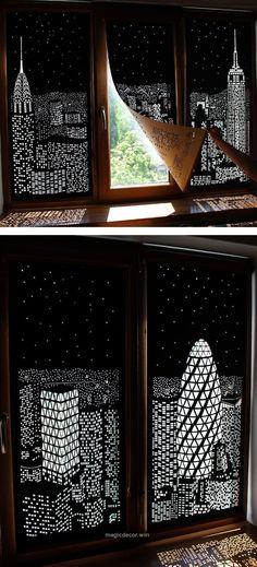 Terrific Shadow art // Window decor // decor ideas The post Shadow art // Window decor // decor ideas… appeared first on Home Decor .