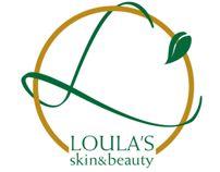 Loula's Skin and Beauty Logo Design