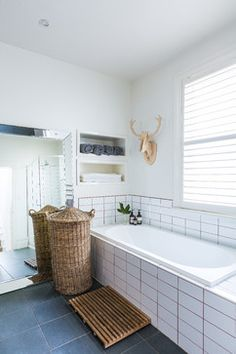South Melbourne Family Home eclectic-bathroom