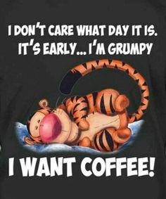 I Don't Care What Day It Is... I Want Coffee ;)☕ #Coffeelover