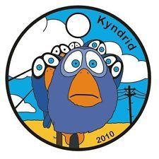 2010 - For The Birds Pathtag # 12050 - PIXAR SHORT - Geocoin Alternative