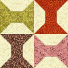 Arkansas Traveler Is a Spools Design That's Perfect for Scrap Quilts: Arkansas Traveler Quilt Block
