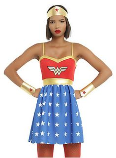 All the world is waiting for you // DC Comics Wonder Woman Cosplay Dress