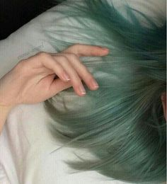 Pin: Art Source by Hair Inspo, Hair Inspiration, Hair Flip, Dye My Hair, Crazy Hair, Cool Hair Color, About Hair, Green Hair, Hair Goals