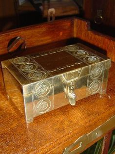 WMF Cigar box around 1900 Art Nouveau.Still for sale Art Nouveau, Art Deco, Wmf, Cigar, Decor, Decoration, Decorating, Cigars, Art Decor