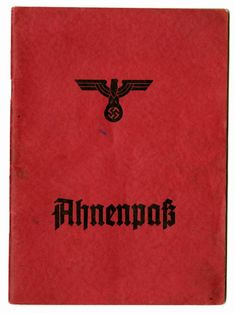 In Nazi Germany, the Aryan certificate (German: Ariernachweis) was a document which certified that a person was a member of the Aryan race.
