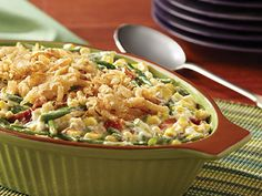 Not the Classic Green Bean Casserole | A new take on a classic recipe.