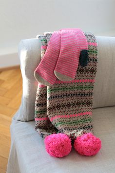 scarf & mittens photographed by Holly Becker made by: Jo Gordon