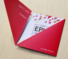 Epic Awards...really cool die cuts