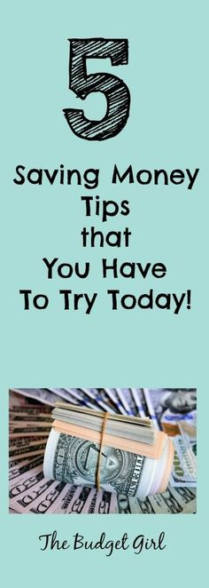 saving money tips you have to try today! save money fast by using cash and cutting expenses.