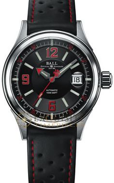 Ball Watch Fireman Racer NM2088C-P2J-BKRD - NM2088C-P2J-BKRD