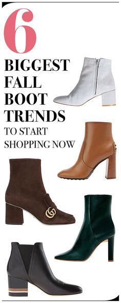 Shop this season's best Fall boots.