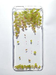 Annys workshop手作押花手機保護殼,適用於Apple iphone 6 plus及6S plus, 飄落, Pressed flower phone case