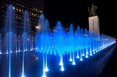 Gwanghwamun Summer Fountain.