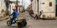 In das Straßenlabyrinth von Camagüey