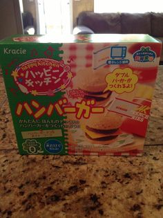 Popin cookin hamburger