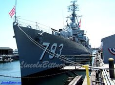 Right next to the USS Constitution is the USS Cassin Young.