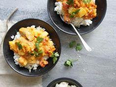 Coconut Curry Sausages recipe