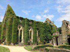 Abbaye de Villers in Villers-la-Ville, Brabant Wallon
