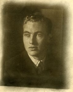 Black and white photograph of John Blaffer wearing a suit, 1926