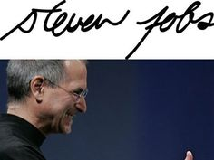 Signatures Of Famous Tech Leaders
