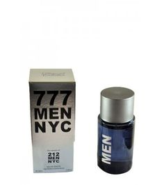 777 Men NYC  777 Men NYC  Inspired by 212 Men NYC  Approximate Size:   100ml  Model:  MC 012