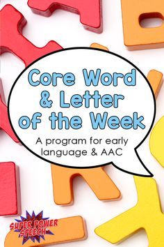 I had no idea how to teach core vocabulary until this program! It has been a lifesaver in giving me activities, core boards, and involving staff/families!