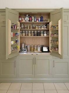 Kitchen Cabinet Herb & Storage by cecile
