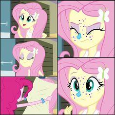 Cutie Fluttershy, Mlp, Cockatiel, My Little Pony Friendship, Equestria Girls, Cute Girls, Girl Outfits, Magic, Beautiful