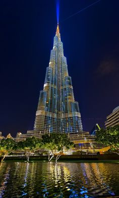 Shared by Dżidżej and featured by the team! (KF) Wonderful view and beauti Unique Buildings, Beautiful Buildings, City Photography, Landscape Photography, Architectural House Plans, Dubai City, New York City Travel, Dubai Travel, Unique Architecture