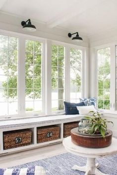 Lake House Sunroom of the Lilypad Cottage by althea #lilypadcottage