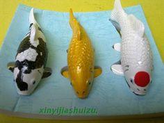 Tropical Fish Ornamental Fish Large Fish Decoration Artificial Fish Fake  Fish Koi Model Three Color
