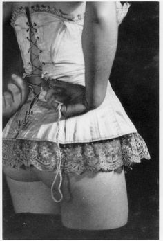 Old school corsetry...if it doesn't have steel boning in it (as whalebone is now illegal)-  then its a bustier! And will most likely start flipping up at the bottom the second you move!