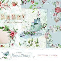 Christmas Foliage By Victoria Nelson
