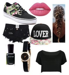"""""""Untitled #32"""" by immortalheart on Polyvore featuring Vans, WithChic, Marc by Marc Jacobs, Lime Crime and Zoya"""