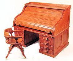 Rolltop desk mini