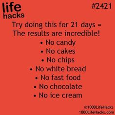 Life Hacks) This is practically everything I eat. I'd die of starvation before the 21 days are doneThis is practically everything I eat. I'd die of starvation before the 21 days are done Simple Life Hacks, Useful Life Hacks, Cool Hacks, Life Hacks For Girls, Easy Hacks, Get Healthy, Healthy Tips, Eating Healthy, Healthy Weight