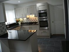 Milbourne Stone - Purple Kitchens kitchen