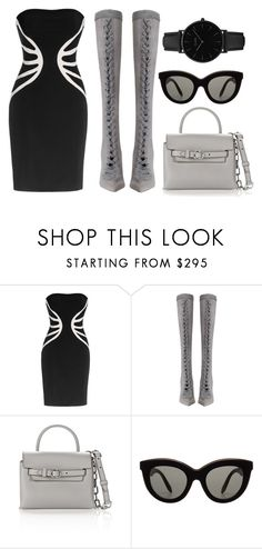 """""""Untitled #559"""" by farrahaqs on Polyvore featuring Leka, Zimmermann, Alexander Wang, Victoria Beckham and CLUSE"""