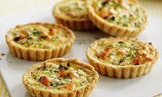 Jo Pratt's picnic recipes: Salmon, dill and creme fraiche tarts | Daily Mail Online