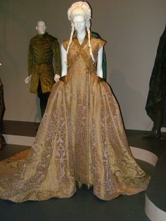 "Wedding gown costume worn by Sophie Turner playing Sansa Stark in ""Game of Thrones."" Season 3, episode 8, ""Second Sons."""