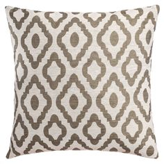 Sofltine Home Fashion's Umbra Feather-Down Decorative Pillow (Feather Down - Olive - Two Pillows), Green, Softline - 20 x 20 (Polyester, Geometric) Pillow Arrangement, American Decor, Sofa Pillows, Home Decor Trends, Home Decor Outlet, Shabby Chic Furniture, Decorative Throw Pillows, House Styles, Tiny House