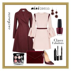 Pink and Burgundy by klm62 on Polyvore featuring polyvore, fashion, style, Roksanda, Harris Wharf London, Christian Louboutin, Rebecca Minkoff, Suoli, Marc Jacobs, Smith & Cult, OPI and clothing