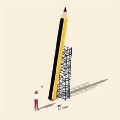 Editorial illustration. Digital art/ digital painting.