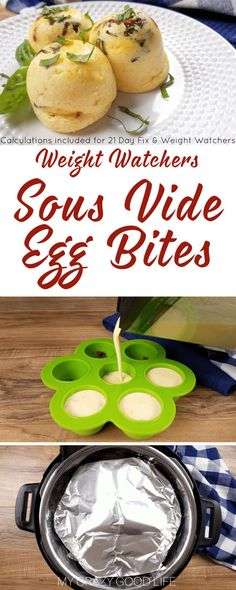 These copycat Starbucks Egg Bites are so easy to make in your Instant Pot! Save a ton of money by making Sous Vide Instant Pot Egg Bites at home. Starbucks Egg Bites, Healthy Starbucks, Starbucks Recipes, Instant Pot Pressure Cooker, Pressure Cooker Recipes, Pressure Cooking, 21 Day Fix, Instant Pot Sous Vide, Egg Bites Recipe