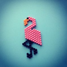 This lovely flamingo loves to frolic by the waterside #Aquabeads #artsandcrafts #kids #toys